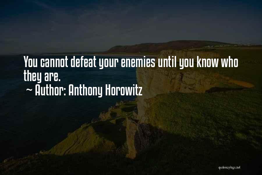 Anthony Horowitz Quotes 662487