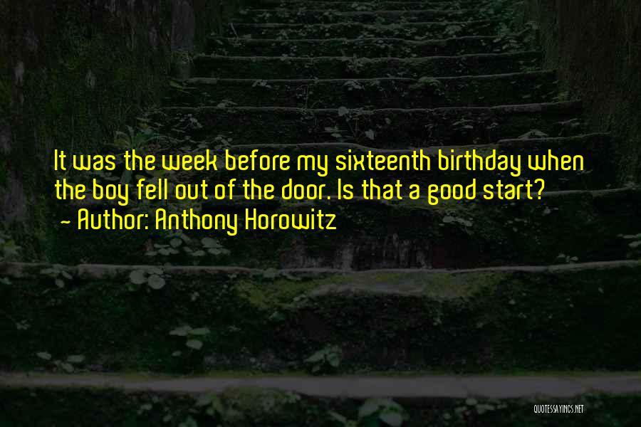 Anthony Horowitz Quotes 729960