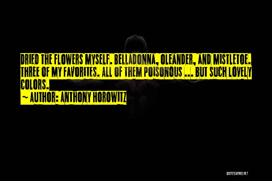 Anthony Horowitz Quotes 736648