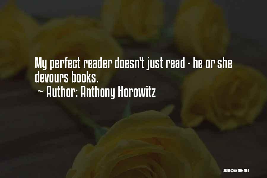 Anthony Horowitz Quotes 975565