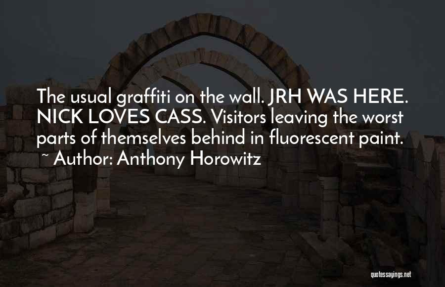 Anthony Horowitz Quotes 987695