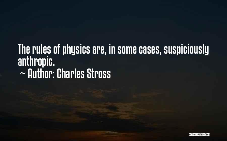 Anthropic Quotes By Charles Stross