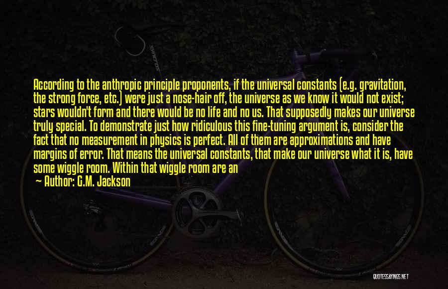 Anthropic Quotes By G.M. Jackson