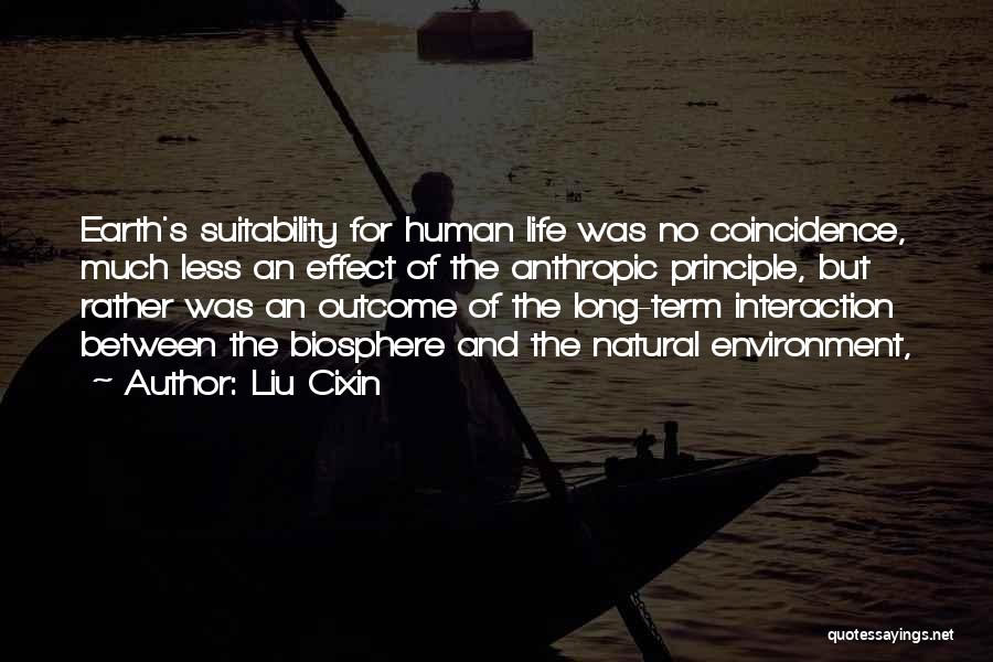 Anthropic Quotes By Liu Cixin