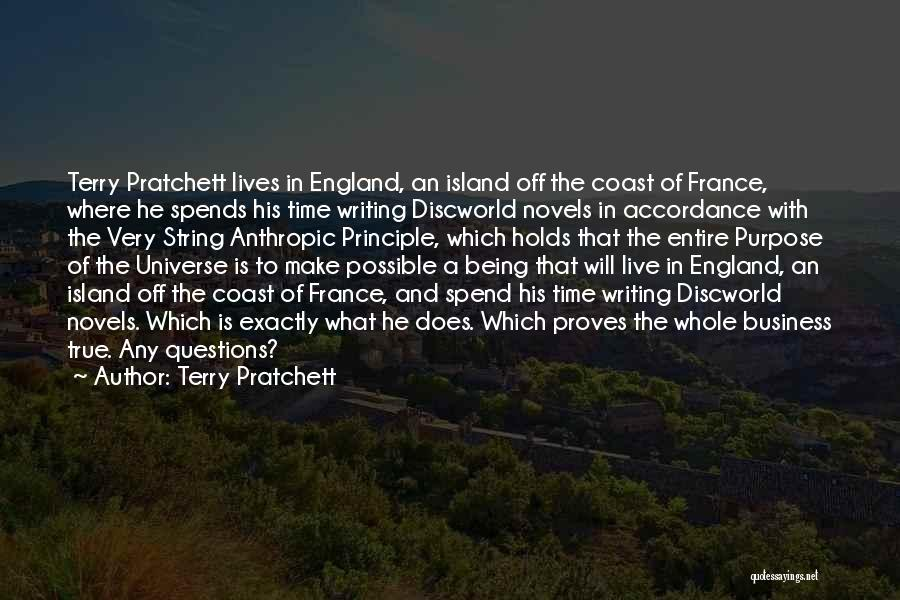 Anthropic Quotes By Terry Pratchett