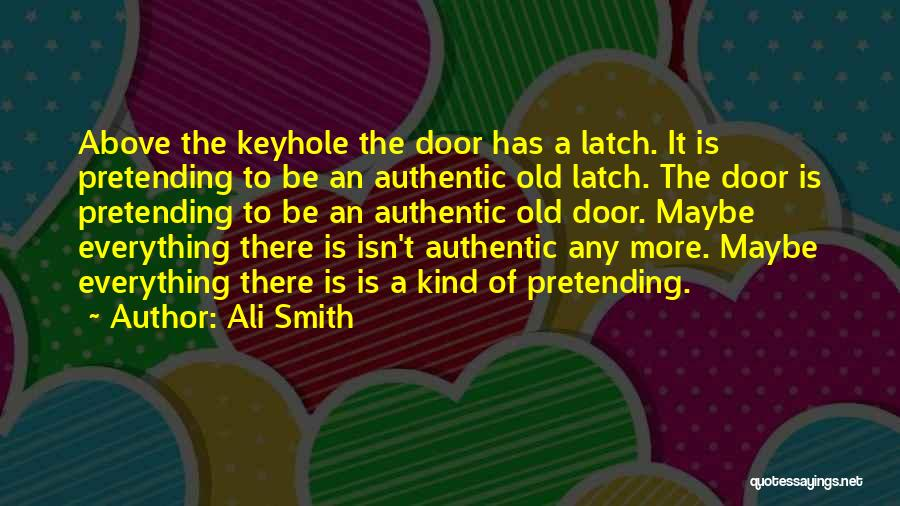 Anthropocene Quotes By Ali Smith