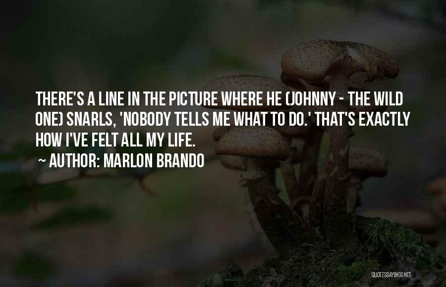 Anti Authoritarian Quotes By Marlon Brando