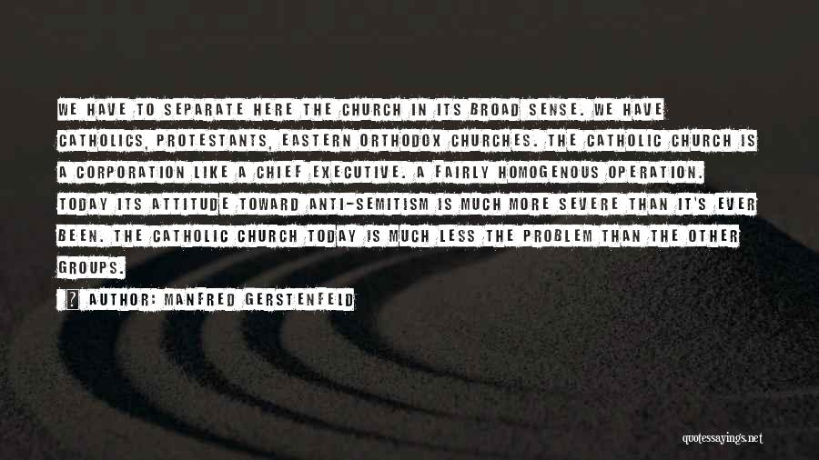 Anti Corporation Quotes By Manfred Gerstenfeld