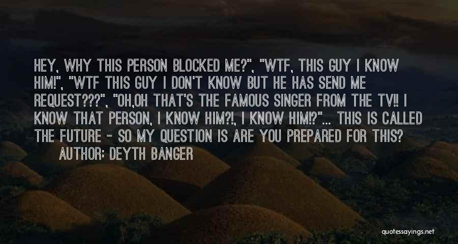 Anti Facebook Quotes By Deyth Banger