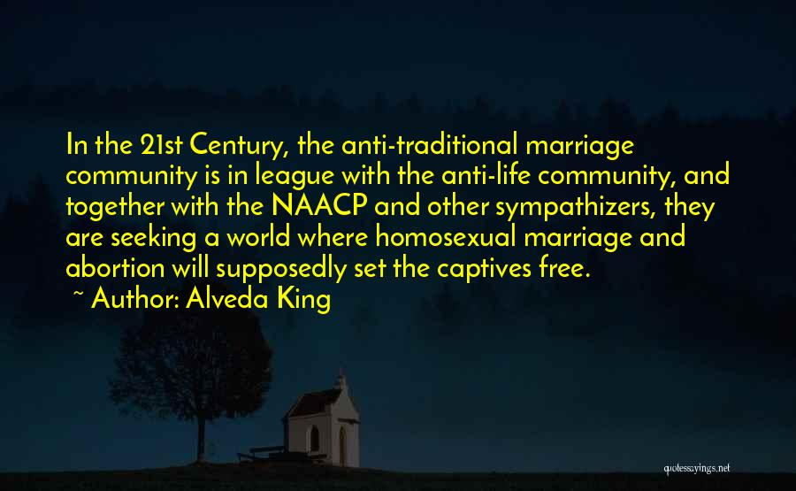 Anti Life Quotes By Alveda King