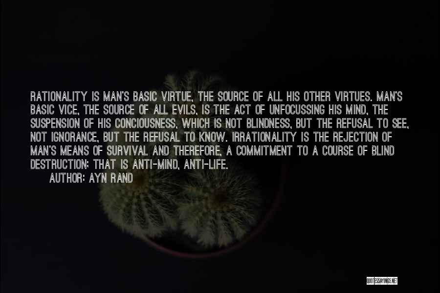 Anti Life Quotes By Ayn Rand