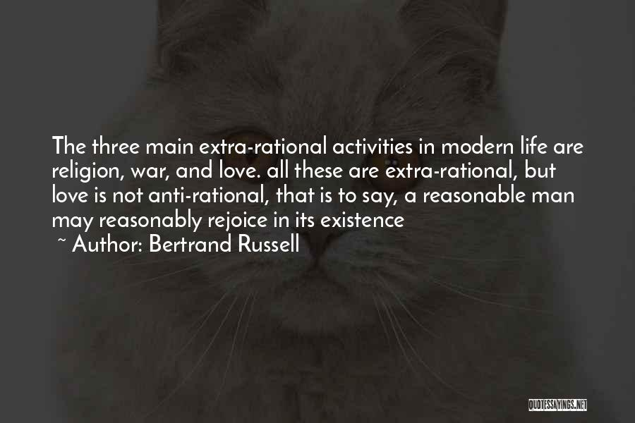 Anti Life Quotes By Bertrand Russell