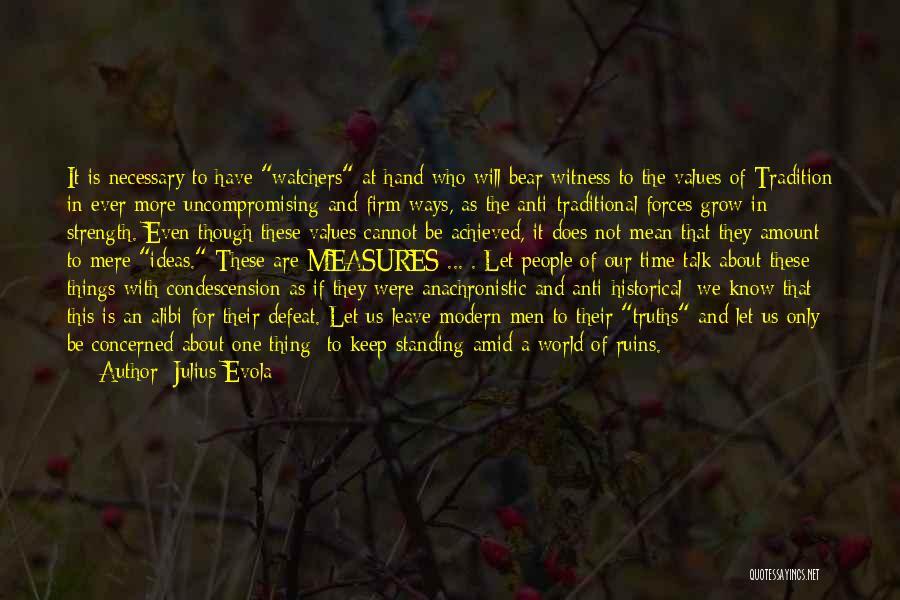 Anti Life Quotes By Julius Evola