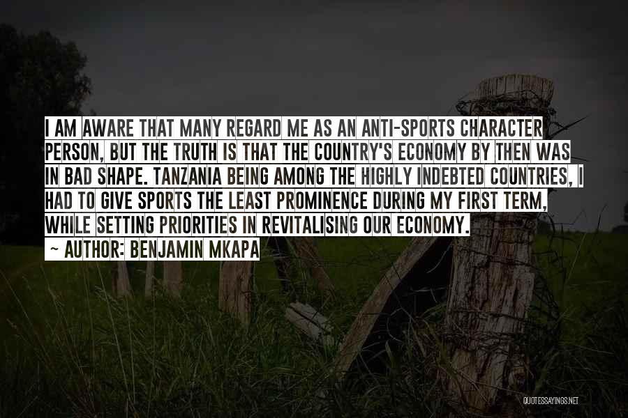 Anti-macho Quotes By Benjamin Mkapa