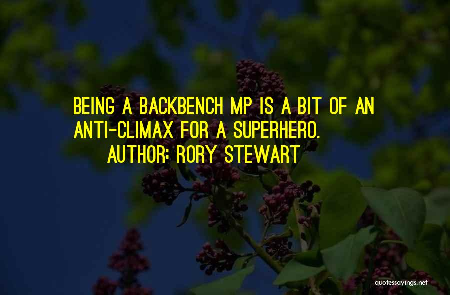 Anti-macho Quotes By Rory Stewart