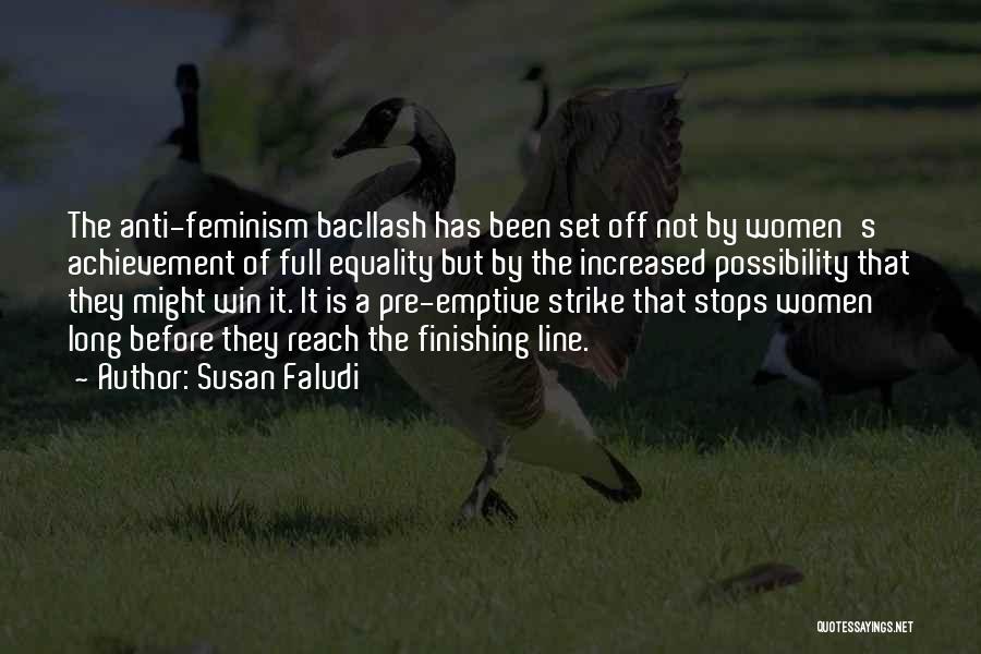 Anti-macho Quotes By Susan Faludi