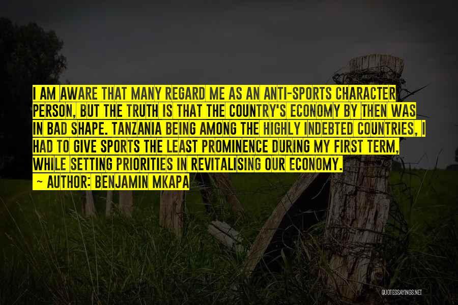 Anti-psychiatry Quotes By Benjamin Mkapa