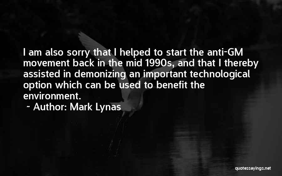 Anti-psychiatry Quotes By Mark Lynas