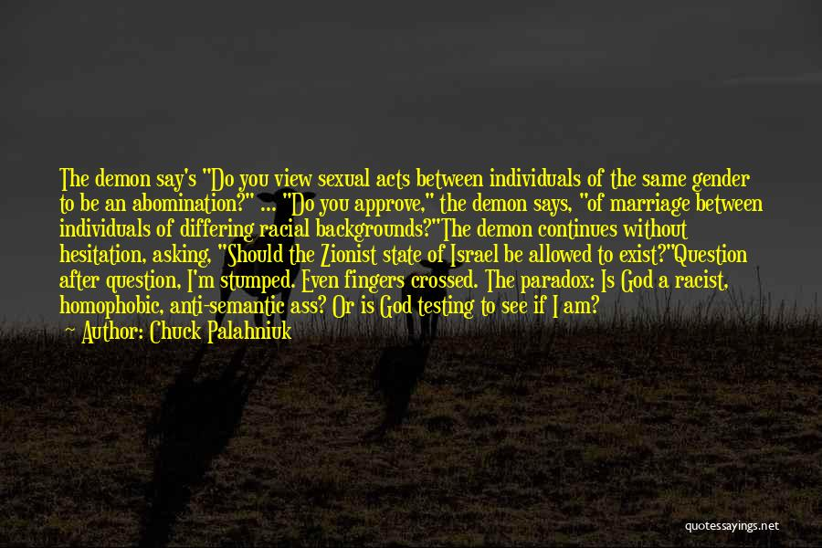 Anti State Quotes By Chuck Palahniuk