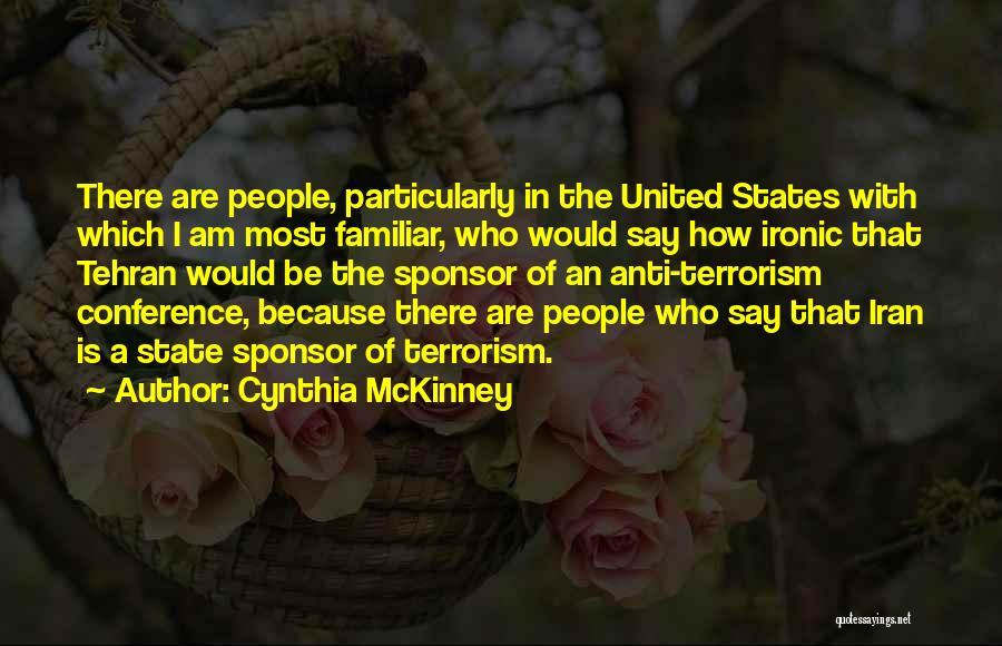Anti State Quotes By Cynthia McKinney