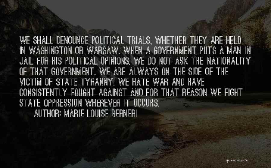 Anti State Quotes By Marie Louise Berneri