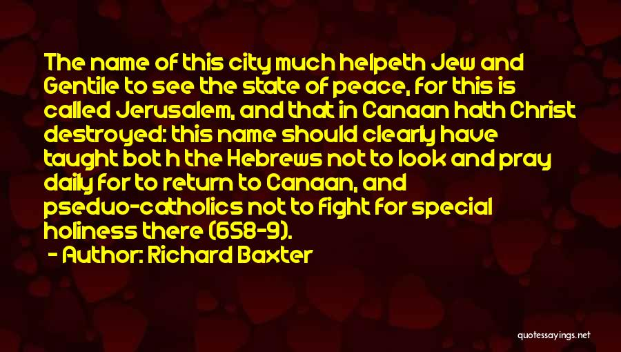 Anti State Quotes By Richard Baxter