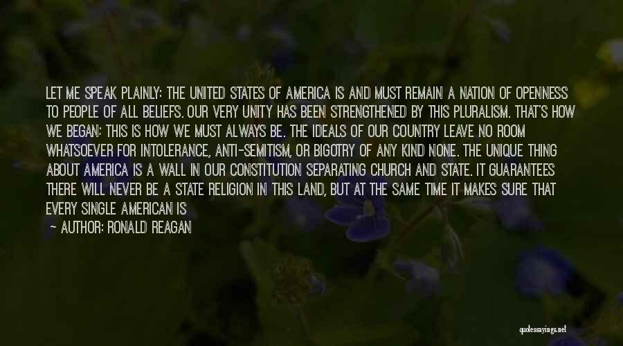 Anti State Quotes By Ronald Reagan