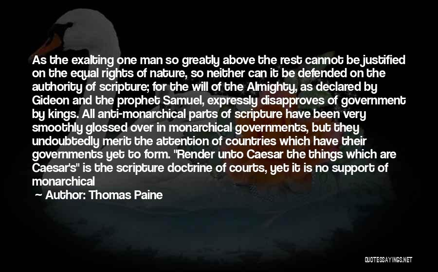 Anti State Quotes By Thomas Paine