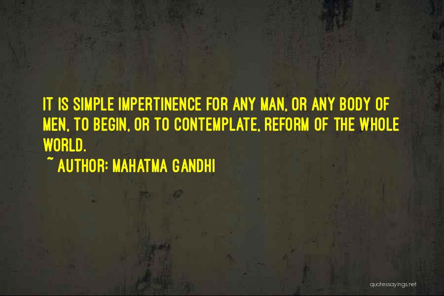 Anti Us Imperialism Quotes By Mahatma Gandhi