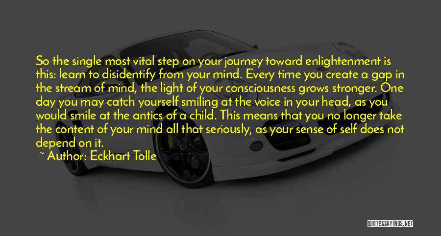 Antics Quotes By Eckhart Tolle