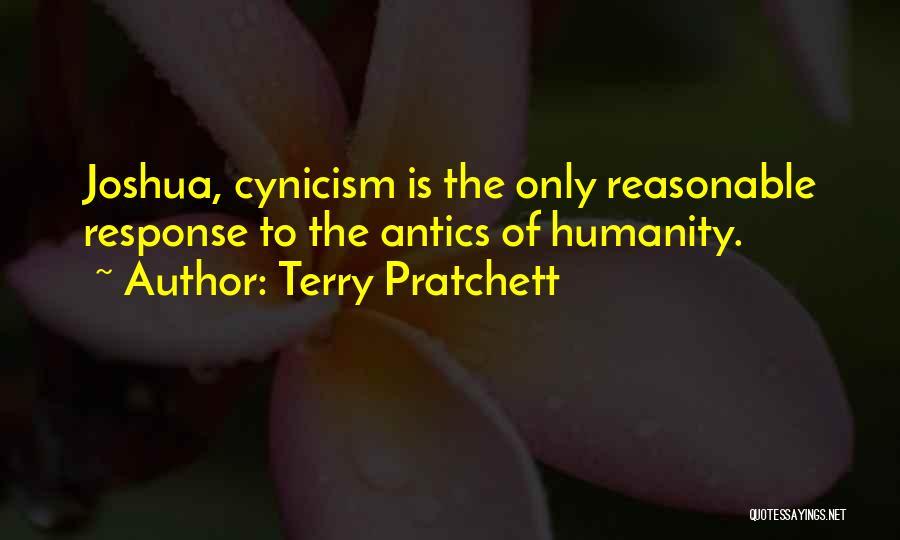 Antics Quotes By Terry Pratchett