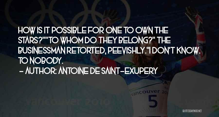 Antoine De Saint-Exupery Quotes 1115177