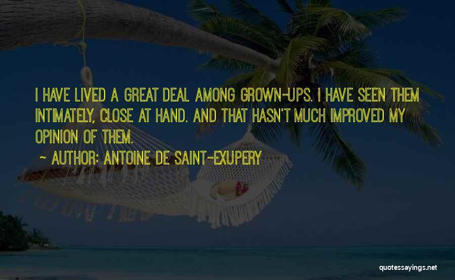 Antoine De Saint-Exupery Quotes 1393830