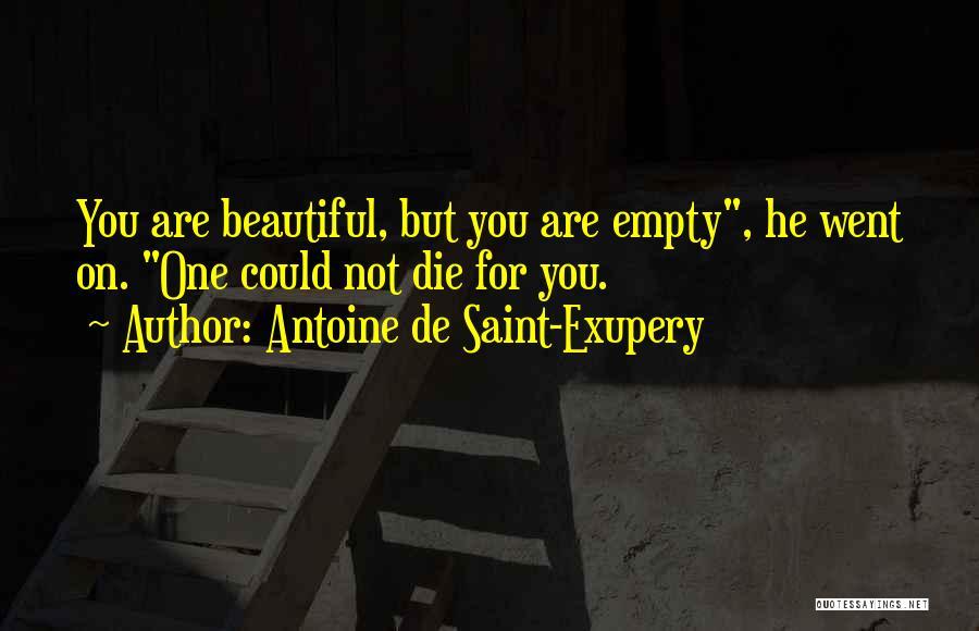 Antoine De Saint-Exupery Quotes 1840194