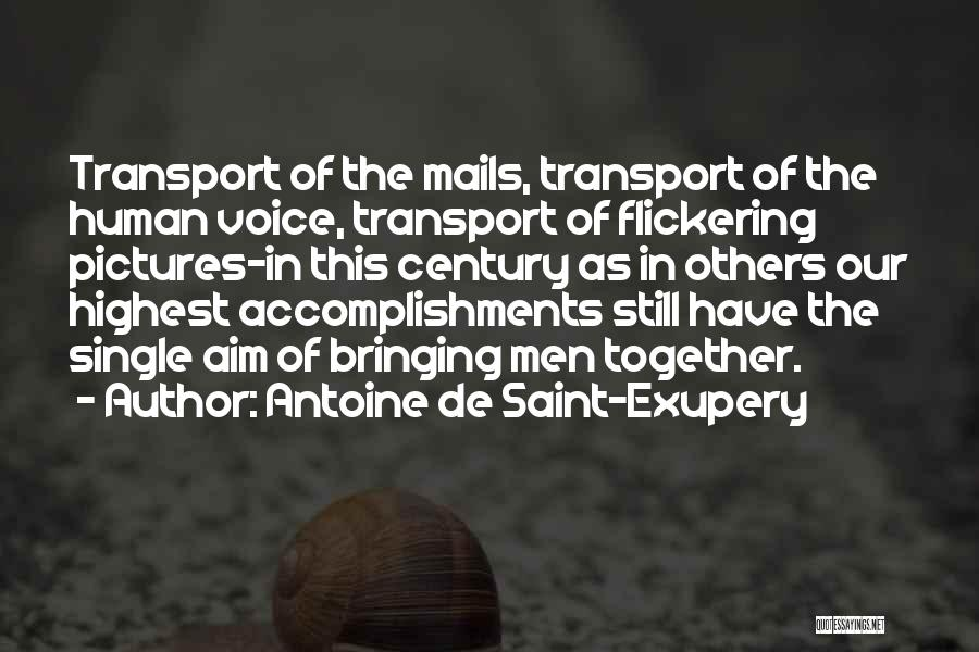 Antoine De Saint-Exupery Quotes 887379