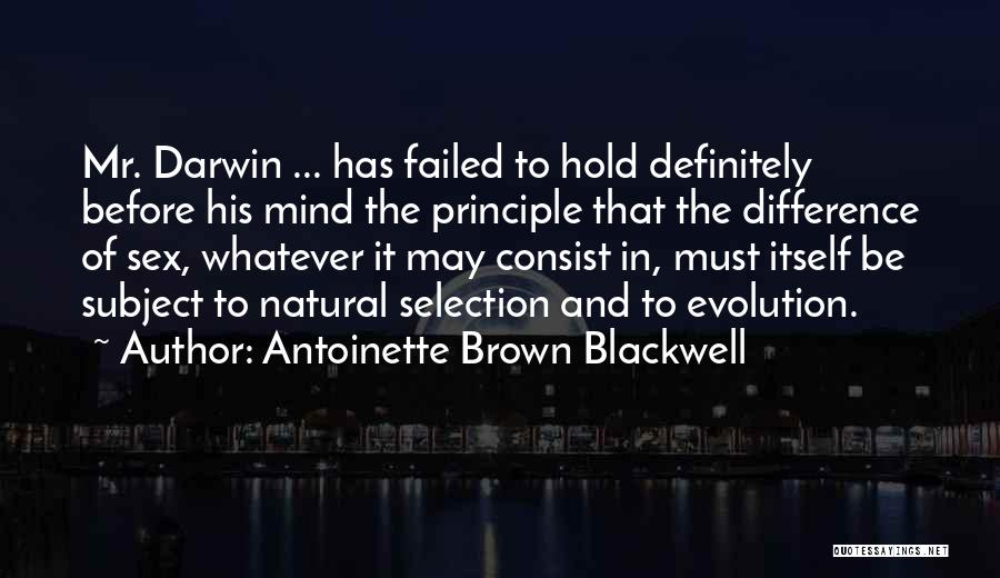 Antoinette Brown Blackwell Quotes 457913