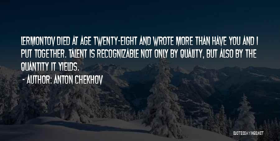 Anton Chekhov Quotes 1789314