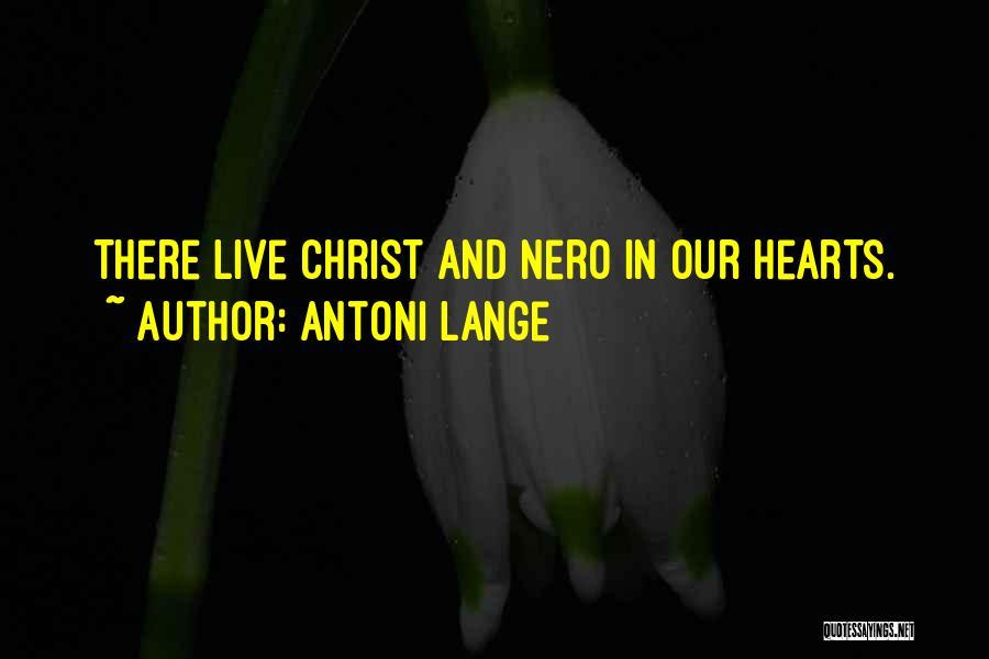 Antoni Lange Quotes 697160