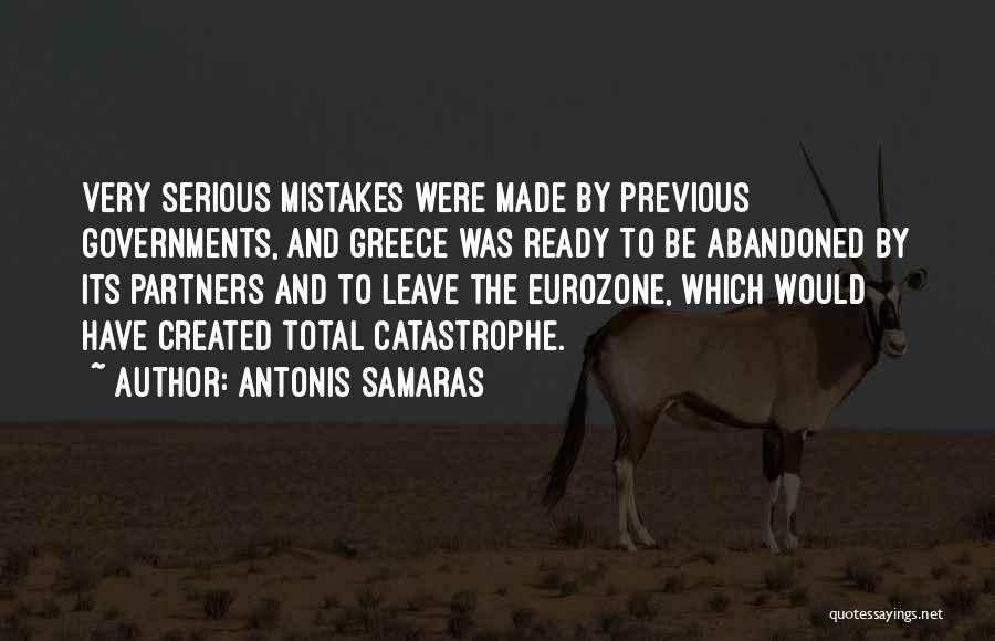 Antonis Samaras Quotes 103887