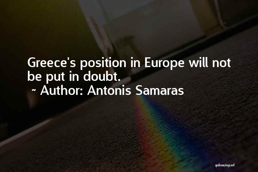 Antonis Samaras Quotes 1141475