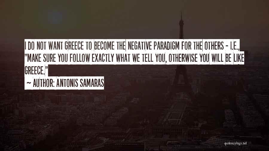Antonis Samaras Quotes 160631