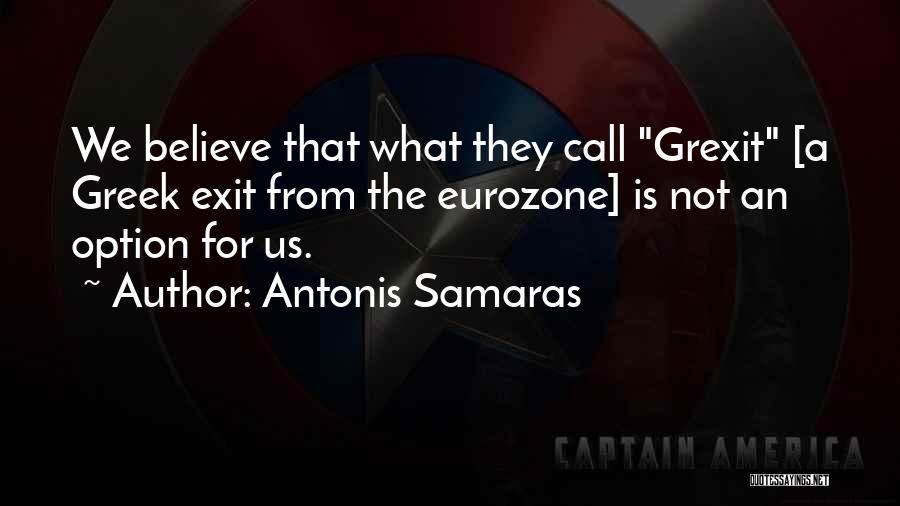 Antonis Samaras Quotes 2125993