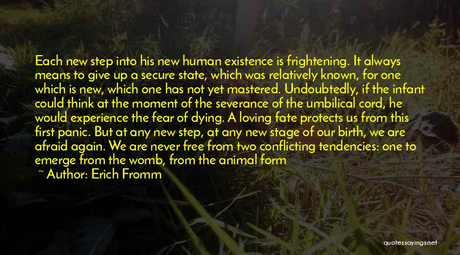 Anxiety And Panic Quotes By Erich Fromm