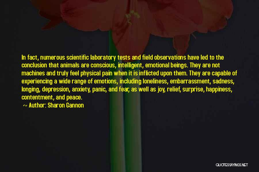 Anxiety And Panic Quotes By Sharon Gannon