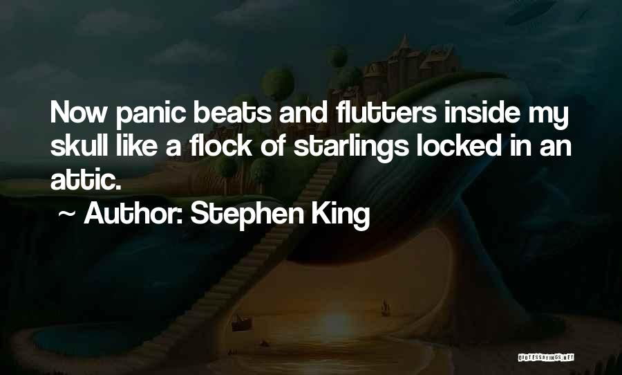 Anxiety And Panic Quotes By Stephen King