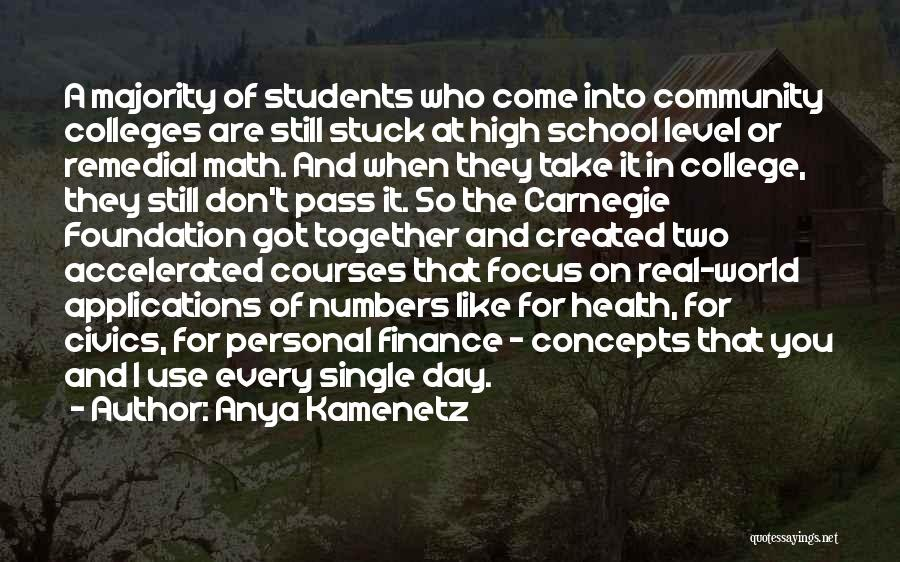 Anya Kamenetz Quotes 510087