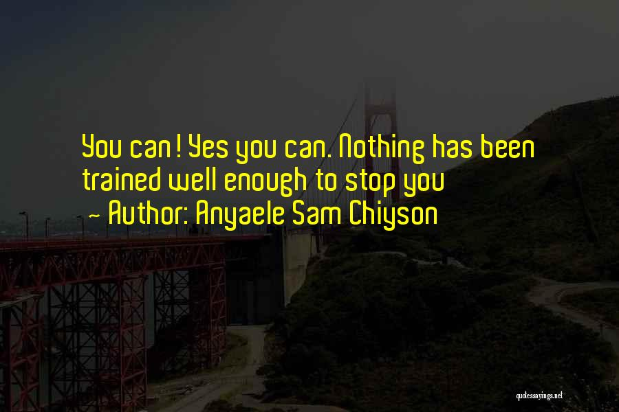 Anyaele Sam Chiyson Quotes 194816