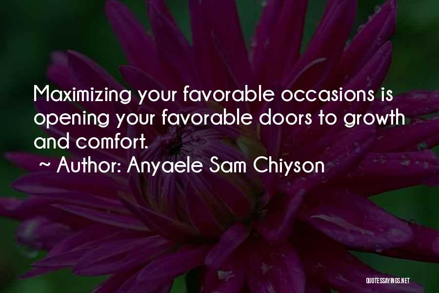 Anyaele Sam Chiyson Quotes 213597