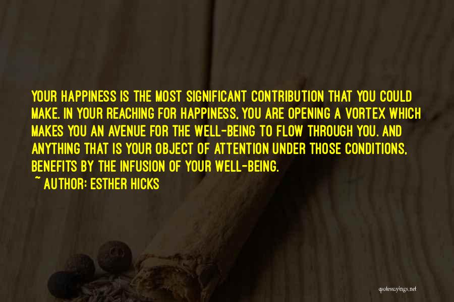 Anything For Your Happiness Quotes By Esther Hicks