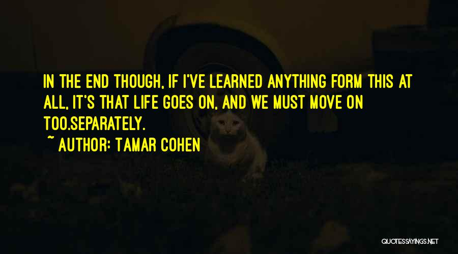 Anything Goes Quotes By Tamar Cohen